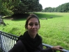Fränzi im Schlosspark