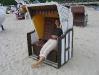 Strandkorbpause