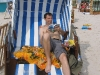Strandkorbpause in Binz