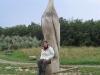 Statue richtung Vitt