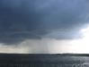 Gewitter bei der Überfahrt