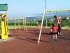 Pause auf einem Spielplatz in Slowenien