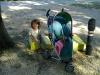 Auf dem Camping in Split