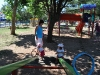 Auf dem Spielplatz in Punat