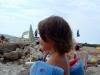 Am Strand von Punat