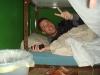 Simi in der Schlaffkoje