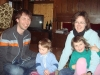 Karin, Rebekka, Elian und ich