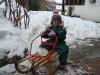 Jael und ihr Schneeklumpen