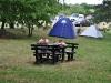 Ankunft Camping Korana, endlich spielen